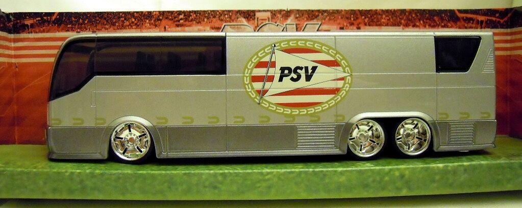 Maisto 21010  PSV Eindhoven Vereinsbus, sehr seltenes Metallmodell;  NEU & OVP  | Genial Und Praktisch