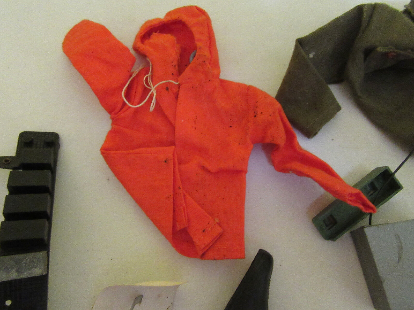 Vintage GI Joe Clothing Accesories Deep Sea Sea Sea Diver Helmet lead shoes weight belt c34f75