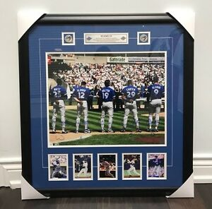 Toronto Blue Jays 1993 WAMCO 16x20 Signed Photograph Baseball Holofoil Framed