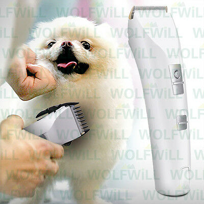 NEW Electric Pet Hair Trimmer Shaver Razor Grooming Clipper Kit for pet Dog Cat