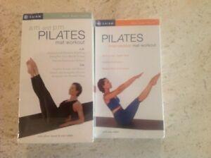 Am Pm Pilates Mat Workout And Interm Mat 3 Vhs Ana