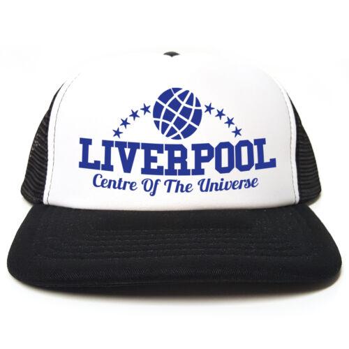 Liverpool-Centro dell/' universo-divertente retrò Camionista PAC-Snapback 3 COLORI