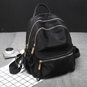 6bc3f7e5bd Details about Water Resistant Nylon Small Backpack Rucksack Daypack Travel  Bag Cute Purse