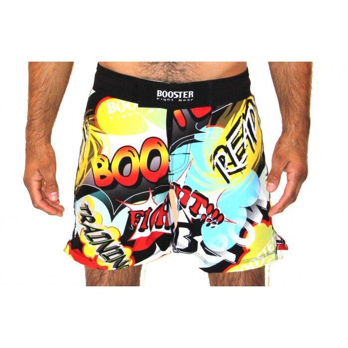 Booster- MMA PRO COMIC COMIC COMIC Shorts, Gr. 30. MMA, Grappling, No Gi Shorts. d21be8
