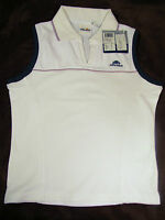 Ellesse White With Light Purple Top Tennis Golf Casual Size 8 Msrp $42