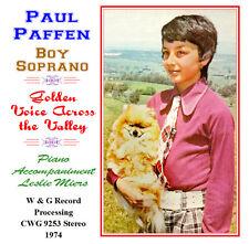 Paul Paffen  Australian Boy Soprano Golden Voice Across the Valley - 1974