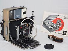 Linhof  Technika 70 6x9cm field camera kit. Camera, 100mm f/2.8 lens and grip.