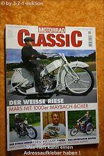 Motorrad Classic 2/00 Mars Matchless Victoria Avanti