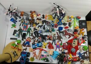 Enorme action figure GRAB BAG LOTTO-CASSETTO delle cianfrusaglie giocattolo LOTTO!!!