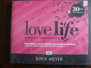 Details about Love Life: Women's Conference - 30th Anniversary - Joyce  Meyer - Audio CDs