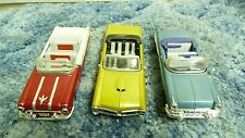 LOT 3 NEWRAY CITY CRUISER PONTIACS 1:43 55 STARCHIEF 57 BONNEVILLE 66 GTO SH6A2