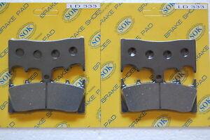 Front /& Rear Brake Pads for Kawasaki ZRX1200 ZR1200 01-08
