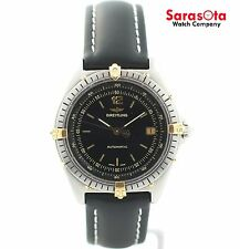 Breitling Windrider Antares 81970 Two Tone Black Dial Automatic Men's Watch