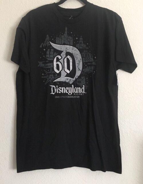 Disney Mickey Mouse Raglan Tee for Youth Disneyland Diamond Celebration Youth - Small