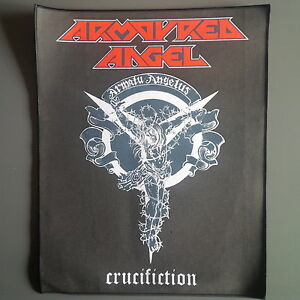 Armoured-Angel-Crucifiction-Backpatch-Bolt-Thrower-Sadistik-Exekution-Metal