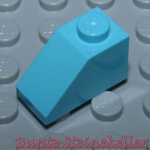 SK160 10 Stück türkis blaue Dach Steine 1x2 Dachstein 3040 /& NEU !