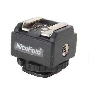 NICEFOTO C-N2 Hot Shoe Converter Adapter For Nikon Flash To Canon Camera