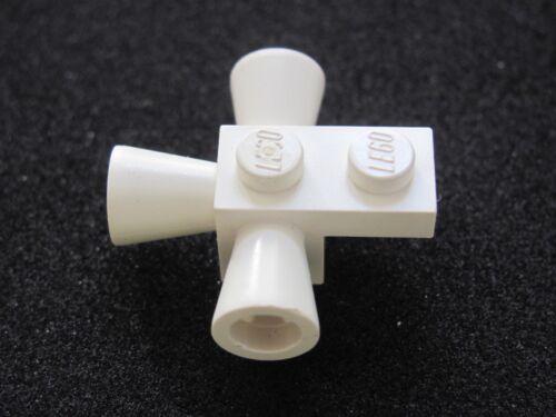 LEGO 3963 @@ Brick Modified 3 Loudspeakers 6750 6971 6980 6988 White