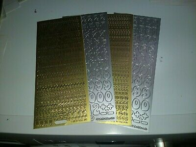 STICKERS4339 7X STICKERS FOR HOBBYCRAFTS MIX NEW 23X10 CM