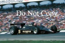 Mario Andretti JPS Lotus 79 German Grand Prix 1978 Photograph 2
