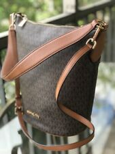 Michael Kors Women Leather Messenger Purse Shoulder Handbag Crossbody Bag Wallet