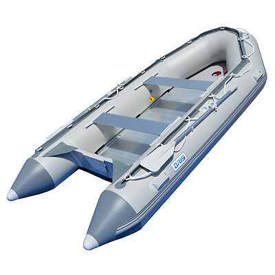 1.2mm PVC 14.1ft Inflatable Boat Inflatable Rescue & Dive Raft Power Boat