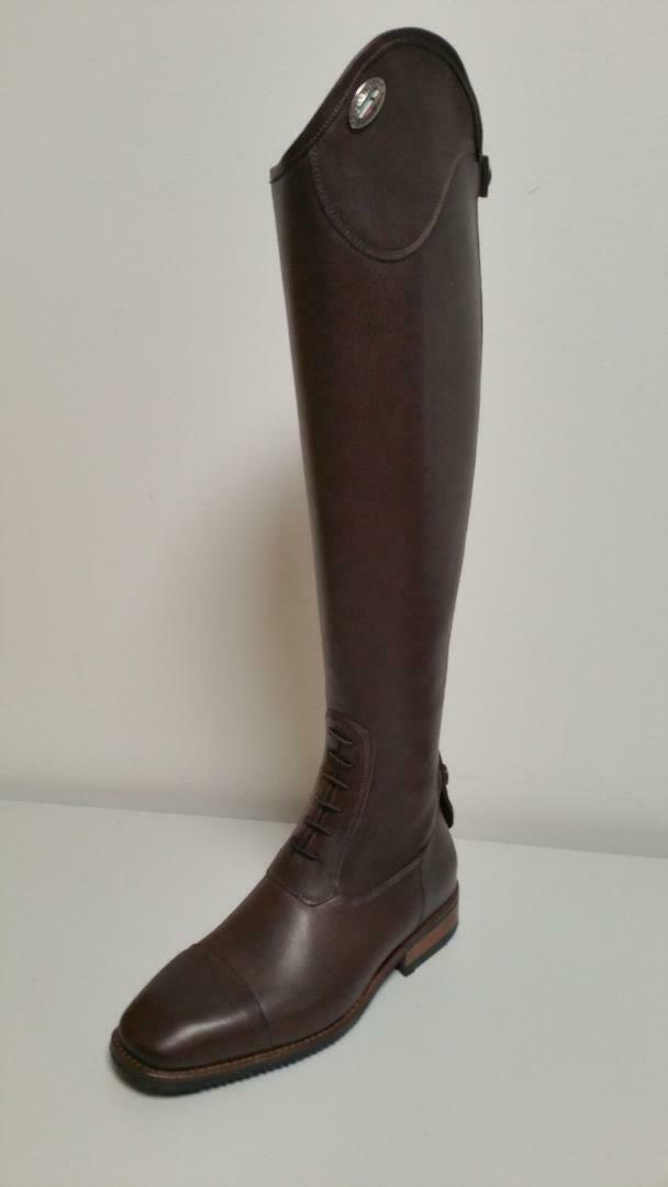 DeNiro Riding Boots Salento  02 39 MA L Brown 527  with 100% quality and %100 service