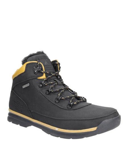 Herren Boots Trekkingschuhe Stiefel Winterschuhe Komfortable Flach Gr 41-46 NEU
