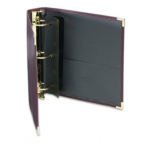 Samsill 2  Burgundy Classic Collection Ring Binder Portfolio - 10pk