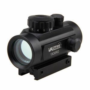 Tactico-Holografica-Reflex-5MOA-30RD-Verde-Rojo-iluminar-Visor-de-punto-montaje