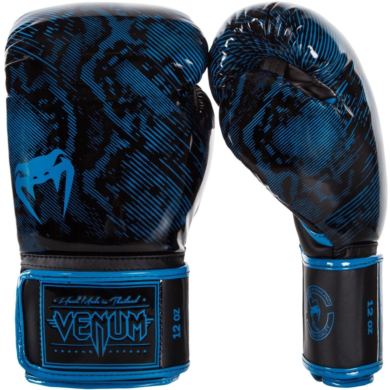 Venum Fusion Boxing Boxing Boxing Gloves MMA BJJ Muay Thai Blau - 12oz 24ec45