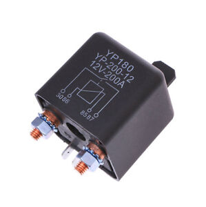 100A Amp 12V DC High Power Car Relay Truck Motor Continuous Automotive Switch