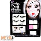 Palmer Agencies Broken Doll Make up Kit Fancy Dress Halloween Eyelashes Horror