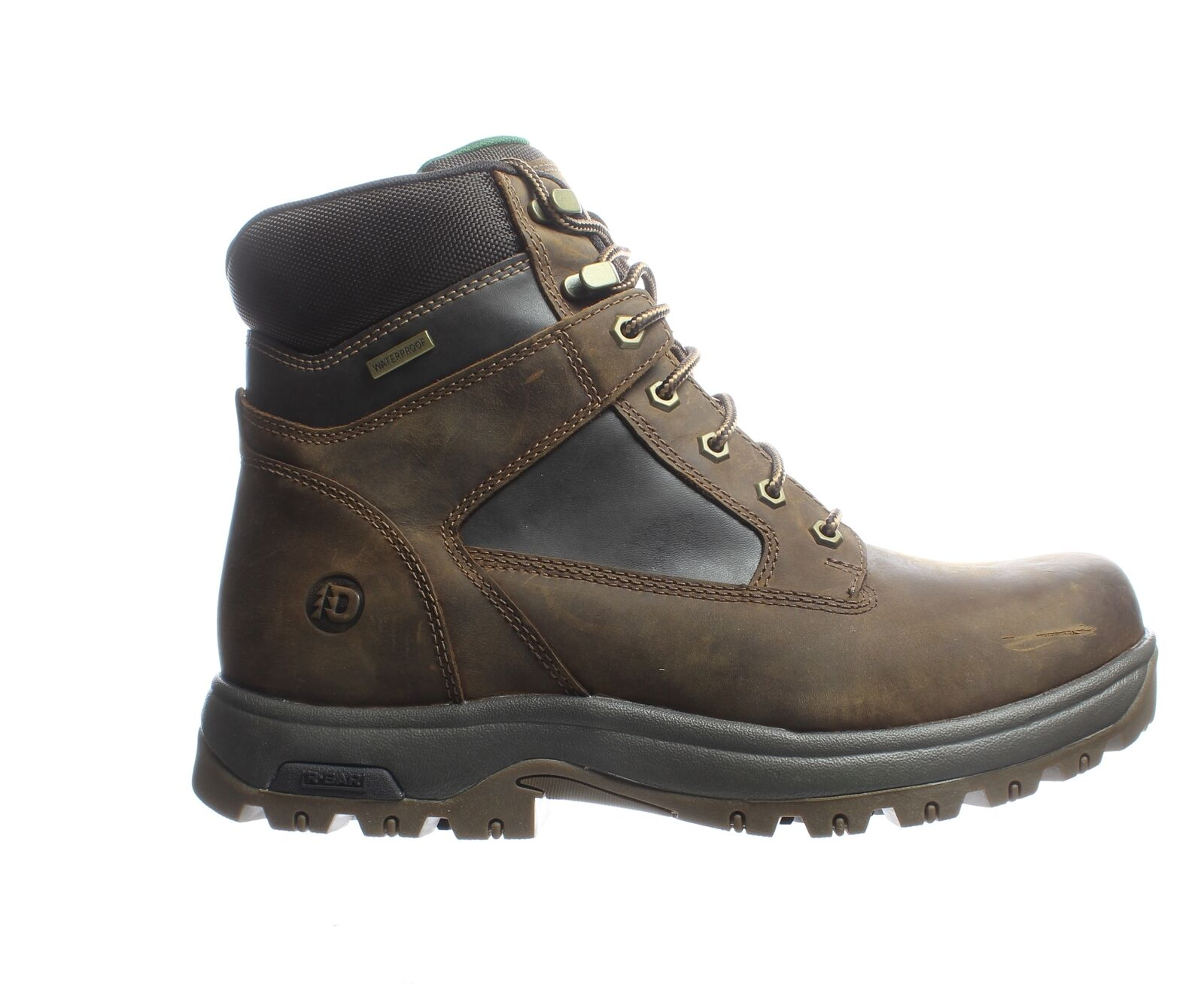 Dunham Mens 8000Works Brown Leather Work & Safety Boots Size 11 (6E) (1970571)