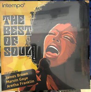 The-Best-Of-Soul-Vinyl-Aretha-Franklin-James-Brown-Etta-James-New-Sealed