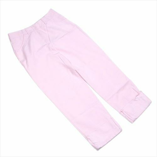 Max Mara Pants Pink Cotton cotton Woman Authentic Used F1416