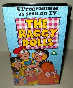 The-Raggy-Dolls-Childrens-VHS-Classic-Vhs-Tape-amp-Case-Yorkshire-TV-PAL