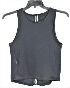 Victoria-Secret-Sport-Mesh-Sheer-Racerback-Tank-Top-Size-XS-Back-Zipper-Pocket