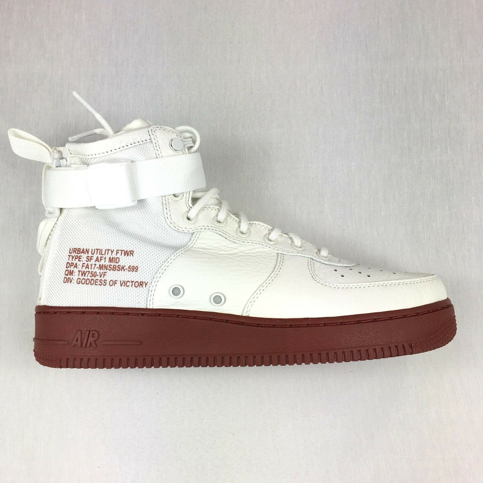 premium selection 83e35 93bd9 Nike SF AF1 Air Force 1 Special Forces Ivory Ivory Ivory Mars Stone Men s  shoes 9297ed