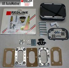 Universal Weber DGV carb install kit with linkage+adapter+air filter - see below