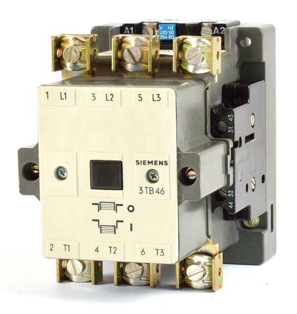 Siemens Schütz 3TB4617-0A GEB