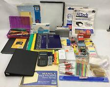 Huge Lot Of Office School Supplies Sharpies Post It Pen Pencils Etc