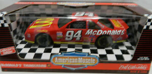 McDonald-039-s-Ertl-Collectible-American-Muscle-Thunderbird-1-18-039-Scale-Die-cast