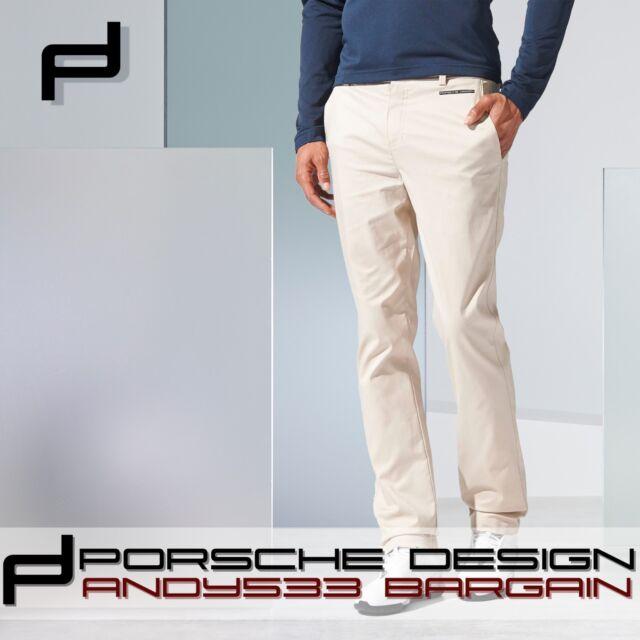 Porsche Design Sportivi Pantaloni Adidas Uomo Sabbia P'5000 Golf Adidas Pantaloni 98ceed