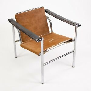 Image Is Loading 1960 039 S Authentic Le Corbusier Cassina LC1