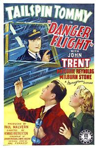 DANGER-FLIGHT-1939-Adventure-Movie-Film-PC-iPhone-INSTANT-WATCH