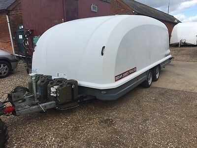 Trailer Hire Brian James Rs3 Enclosed Car Transporter Essex Ebay