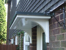 FLAT TOP DRIPROLL GRP FRONT DOOR CANOPY /PORCH  FREE GRP BRACKETS   ONLY £120