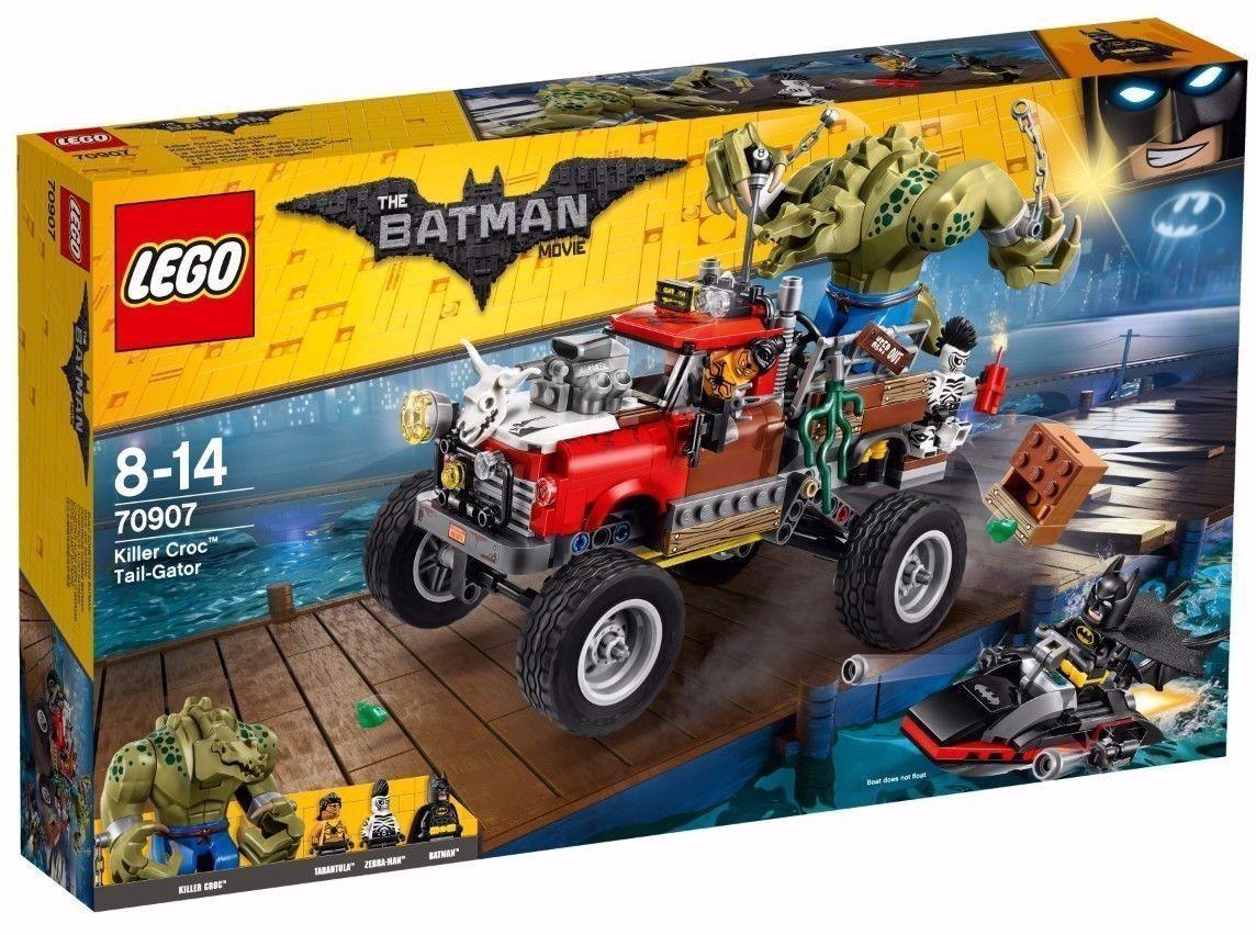 LEGO  70907 THE BATuomo MOVIE Killer Croc Tail-Gator  il prezzo più basso