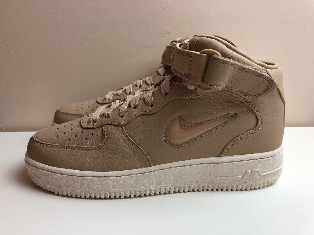 Nike Air Force 1 AF1 Mid Retro Premium shoes Brown
